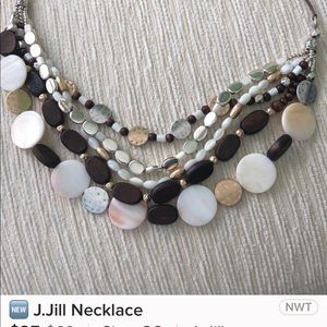 J Jill necklace with adjustable straps